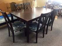 BRAND NEW Table with 6 Chairs in Camp Lejeune, North Carolina