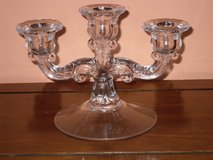 vintage triple candlestick in St. Charles, Illinois