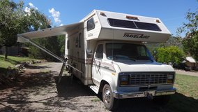 RV Travel Aire with tent in Alamogordo, New Mexico