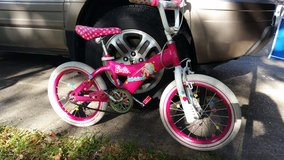 Little girl's  16 inch Barbie bike in Baytown, Texas