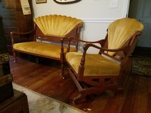 Parlor set: Loveseat and Platform Rocker in Beaufort, South Carolina