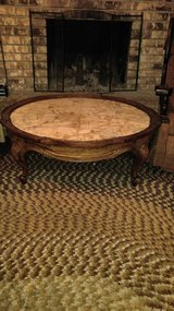 Marble table in DeRidder, Louisiana