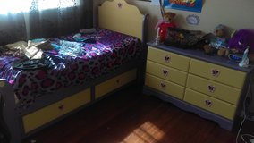 Girls bedroom set in Travis AFB, California