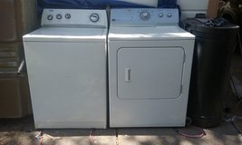 Whirpool Washer and Maytag ElectricDryer in Conroe, Texas