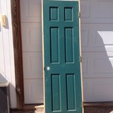 Solid 6 panel door in Alamogordo, New Mexico