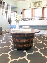 Whiskey Barrel Table in Kingwood, Texas