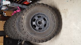 Jeep tires and wheels in Camp Pendleton, California