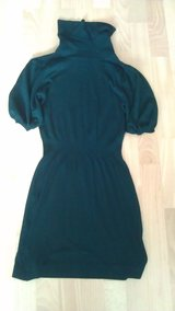 Mango: Short sleeve, turtle neck dress in Ramstein, Germany