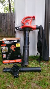 BLACK & DECKER 12-Amp 250-MPH Medium-Duty Corded Electric Leaf Blower with Vacuum Kit in Fort Benning, Georgia