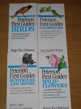 4 peterson field guides in Batavia, Illinois