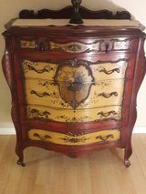 Vintage Hand Painted French Chest of Drawers in Naperville, Illinois