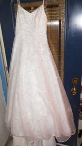Beautiful princess wedding dress available to see in oceanside being reduced to $200 this weekend.. in Miramar, California
