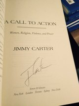 (Book) A call to action Autographed by president carter in Los Angeles, California
