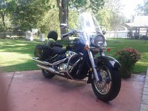 2007 Suzuki Boulevard C50T, Black and chrome in Fort Polk, Louisiana