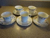 Vintage Cup and Saucer made in China in Bartlett, Illinois
