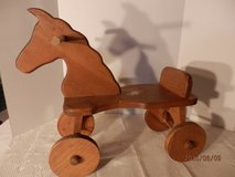 Wooden Horse in Aurora, Illinois