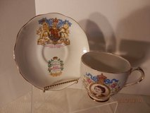 Queen Elizabeth Coronation Cup and Saucer in Naperville, Illinois