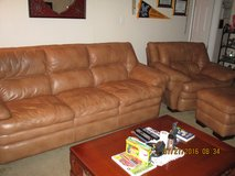 Leather Living Room Set in Hill AFB, UT