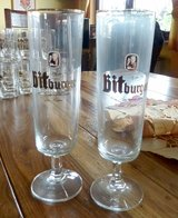Bitburger Beer Glasses 0.4Ltr in Baumholder, GE