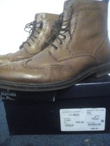 Men's Leather Lace-up Boots in Ramstein, Germany