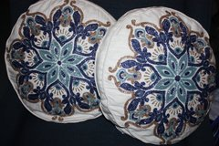 Decorative Blue Pillows (new) in Ramstein, Germany