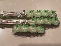 Apple Hair Barrettes NEW (6) in Okinawa, Japan