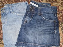2 prs old navy shorts jr. sz 2 in Plainfield, Illinois