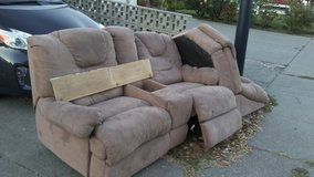 2 piece couch in Travis AFB, California