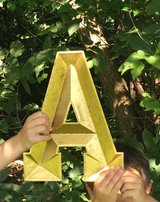 """Metal Letters - Gold - """"A"""" & """"D"""" in Naperville, Illinois"""