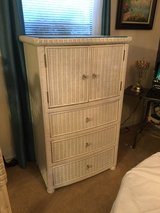 Wicker Chest / Entertainment Cabinet - Pottery Barn in Plano, Texas