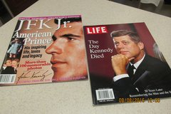 John F. Kennedy  -PLUS- JKF, Jr.  //  Memorial Souvenir Books in Kingwood, Texas