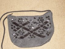 blk beaded purse 7-1/2x5-1/2 in Lockport, Illinois