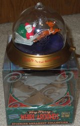 Blockbuster Very Merry Whirl Around Spinning Ornament - Rudolph 1999 in Joliet, Illinois