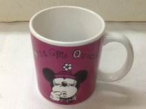 """Minnie Mouse """"Kiss Me Quickly I'm Waiting Coffee Mug in Spring, Texas"""