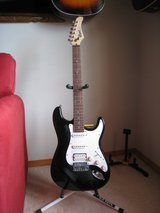 Like New Black Cort Electric Guitar Strat like in Plainfield, Illinois