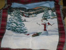 winter scene throw blanket 44x57 in Glendale Heights, Illinois