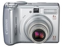 Canon PowerShot A550 7.1MP Digital Camera with 4x Optical Zoom in Elgin, Illinois