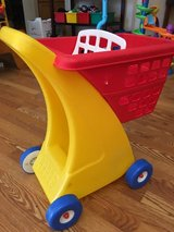 Tikes grocery cart in Nellis AFB, Nevada