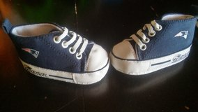 Patriots baby shoes 0-6 months in Alamogordo, New Mexico