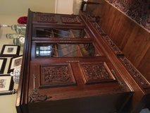 Large hutch cabinet and secretary in Cleveland, Ohio