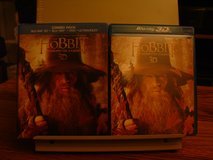 The Hobbit: An Unexpected Journey 5 Disc Blu-Ray + 3D in Travis AFB, California
