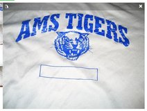AMS Atascocita Middle School Athletic SET Shirt Shorts XL  Blue Football Track Volleyball in Kingwood, Texas