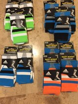 Ready for school .. Adidas sports socks brand new kids in Morris, Illinois