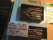 Taps and Drill Bits  Assorted in Chicago, Illinois