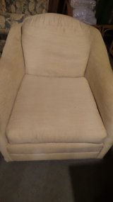 BEAUTIFUL OFF WHITE SMALL TUB CHAIR in Oswego, Illinois