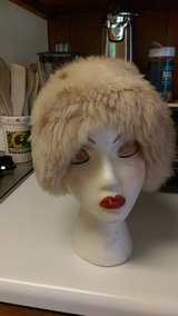 Vintage fur hat in Byron, Georgia
