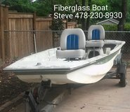 Fiberglass Boat w/ Trailer & Seats (WHAT A DEAL) in Warner Robins, Georgia