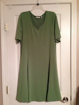 green swing dress in Fort Riley, Kansas