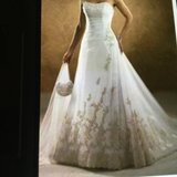 Maggie soterro wedding dress Eleganza size 6 tags still attached . Never worn in Camp Pendleton, California