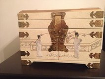 Oriental Daisi Jewelry Box w/Mirror in Keesler AFB, Mississippi